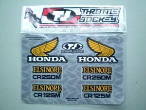 ホンダエルシノアステッカーシート CR250M CR125M [HONDA Official Licenced Product] レーシングステッカー