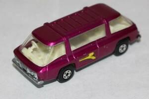 新☆K411 ミニカー 紫系 マッチボックス COMMUTER 1970年 イングランド製 当時物 寸法(高さ2.6cm 幅7.6cm 奥行2.9cm) 重さ40g
