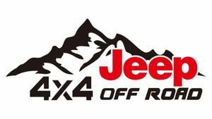 ジープ Jeep 4WD オフロード クロカン ステッカー96