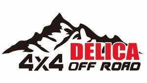 デリカ 三菱 4WD オフロード クロカン ステッカー75