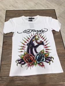 Ed Hardy メンズTシャツ パンサー&ローズ エドハーディー サイズS/M