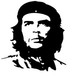 ★チェ・ゲバラ シルエット カッティングステッカー 革命家