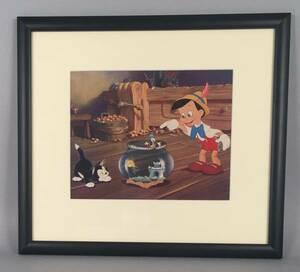 ディズニー ピノキオ 原画 セル画 限定 レア Disney 入手困難