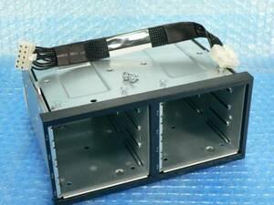 1AHW HP ProLiant DL380 G7の ドライブケージ (HDD BOX) 496074-001 496070-001 (463173-001 463184-001) 2.5インチ 8ベイ // 在庫9 [19]