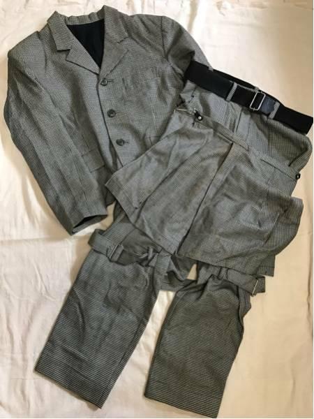 80年代SEDITIONARIESセディショナリーズ再発 スーツ セットアップ ジャケット パンツ M 当時の一点物A Store Robot / Vivienne Westwood