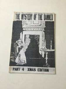 激レア 入手困難 The Damned ファンジン THE MYSTERY OF THE DAMNED PART 4 XMAS EDITION the Clash sex pistols