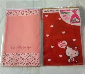 かわいいプレゼント袋♪2柄セット♪