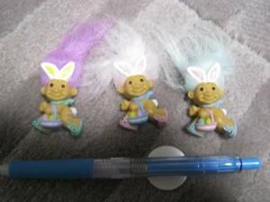 新品 レア トロール マグネット RUSS 文具 イースター ウサギ 卵 イベント 文房具 フィギュア 人形 まとめて 妖精 ビンテージ 海外キャラ