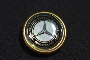 ○メルセデスベンツ SLクラス 3Dピンバッジ Mercedes Benz Club ocitye 190SL300SL W198W113R107R129R230R231ドイツ正規品