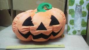 ハロウィン ジャックのおばけカボチャ BIG ぬいぐるみ かぼちゃ 非売 貴重