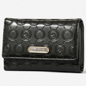 ★即決♪ピンキー&ダイアン☆折り財布 ブラック(丸)