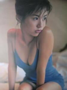 井川遥 ポスター カレンダー 2002
