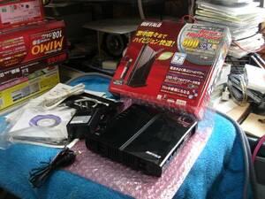 BUFFALO 300Mbps USBポート搭載 WLI-UC-G300HPセット品 WZR-HP-G301NH/U 送料無料