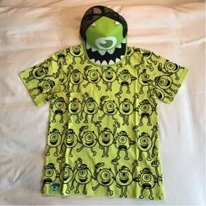 香港ディズニー モンスターズインク マイク Tシャツ キャップ セット
