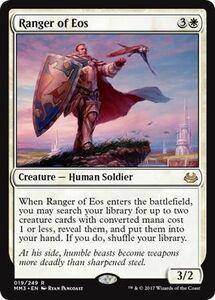 え白 イーオスのレインジャー 1枚(1枚在庫s 英 良品 MM3)/Ranger of Eos(MTG /モダンマスターズ 2017年版/Modern Masters 2017 Edition/