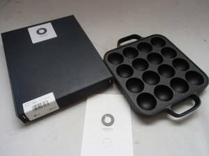 新品未使用 即決 特価 南部鉄 たこ焼き器 16穴日本製 たこ焼き プレート 及源鋳造 オイゲン OIGEN 盛栄堂