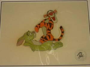 ディズニー クマのプーさん ティガー ラビット 原画 セル画 限定 レア Disney 入手困難