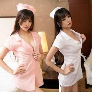 979 ピンク ナース コスプレ衣装 衣装
