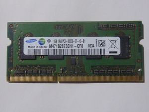 SAMSUNG PC3-8500S 1GB