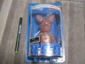 新品 ピグレット クリアラメ フィギュア 人形 くまのプーさん ボビンヘッド ディズニー ブタ 海外キャラビンテージ レア figure doll