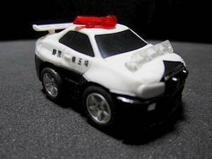 スカイラインGT-R R34 埼玉県警察 ●ミニチュアカー スカイライン GT-R GTR