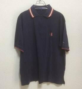 正規品 PEARLY GATES パーリーゲイツ 半袖 ポロシャツ ゴルフ メンズ サイズ 3 マスターバニー キャロウェイ ロゴ刺繍