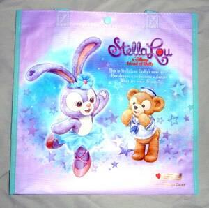 Disney (ディズニー) ステラ・ルー ショッピングバッグ ダッフィー シェリーメイ ジェラトーニ の新しいお友達 ステラルー シー限定販売品