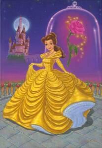 Disney Fine Art ディズニーファインアート 美女と野獣 ベル 限定 レア
