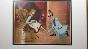 ディズニー シンデレラ 原画 セル画 限定 レア Disney 入手困難