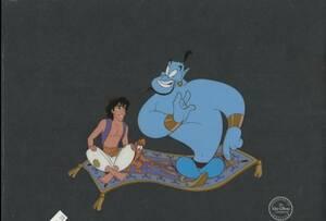 ディズニー アラジン 原画 セル画 限定 レア Disney 入手困難