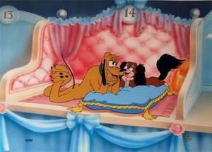 ディズニー プルート 原画 セル画 限定 レア Disney 入手困難