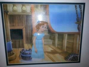 ディズニー ピーターパン ウェンディ 原画 セル画 限定 レア Disney 入手困難