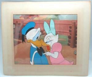 ディズニー ドナルド デイジー 原画 セル画 限定 レア Disney 入手困難