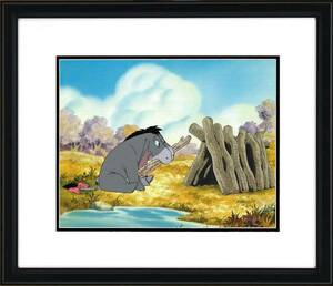ディズニー クマのプーさん イーヨー 原画 セル画 限定 レア Disney 入手困難