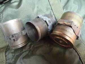 【安全品】米軍実物中古.使用済照明弾.40mm ダミーカート.3発