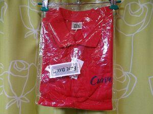 新品 非売品 Curves ポロシャツ SSサイズ スポーツクラブ カーブス インストラクター スタッフ コスプレ 赤色