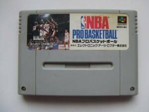 SFC 「NBA PRO BASKETBALL」(カセットのみ)