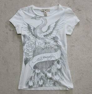 USA製エドハーディレディスTシャツ孔雀S
