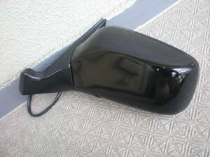 VOLVO Volvo 740 car left electric door mirror black color | connection line 4ps.@ type used beautiful goods