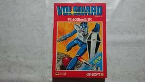 送料無料☆PC-6001mkⅡ/SR ヴォルガード VOLGUARD テープ版 dB-SOFT