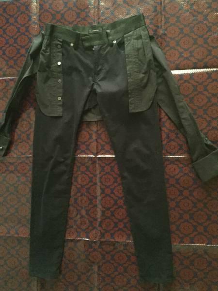undercover アンダーカバー シャツドッキングパンツ size1 美品