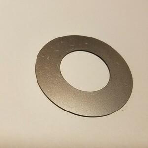 バケット廻り 隙間調整シム ピン径38ミリ用 厚み1ミリ 1枚 ヤンマー 新品 B3-2 B25-2 YB271 B27 VIO30 VIO30-1 B37 B32