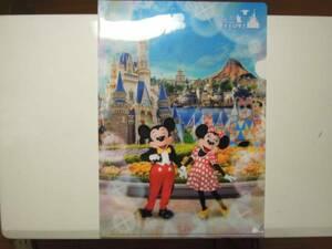 ●非売品・レア 日本通運TOKYO Disney RESORTクリアファイル-東京ディズニーランド/東京ディズニーシー Tokyo Disneyland