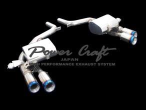 車内でリモコン 操作可能 マセラティ クアトロポルテ 後期 可変バルブ付 リアマフラー チタンテール90Φ ハイブリッドエキゾーストシステム
