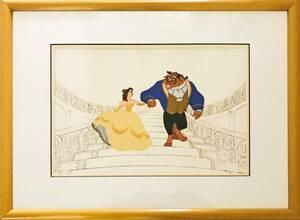 ディズニー 美女と野獣 原画 セル画 限定 レア Disney 入手困難