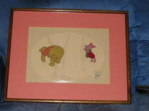 ディズニー クマのプーさん ピグレット 原画 セル画 限定 レア Disney 入手困難