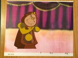 ディズニー 美女と野獣 コッグスワース 原画 セル画 限定 レア Disney 入手困難