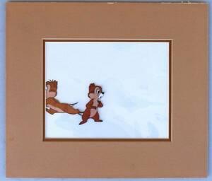 ディズニー チップとデール 原画 セル画 限定 レア Disney 入手困難