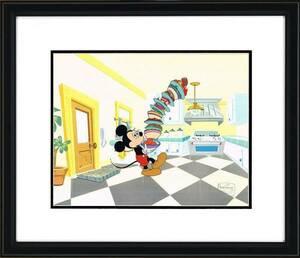 ディズニー ミッキーマウス 原画 セル画 限定 レア Disney 入手困難 Mickey Mouse Works