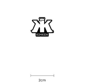 【KIMKEN Logo ステッカー】フィッシングステッカー/木村健太/キムケン フィッシング/depsデプス/アブガルシア